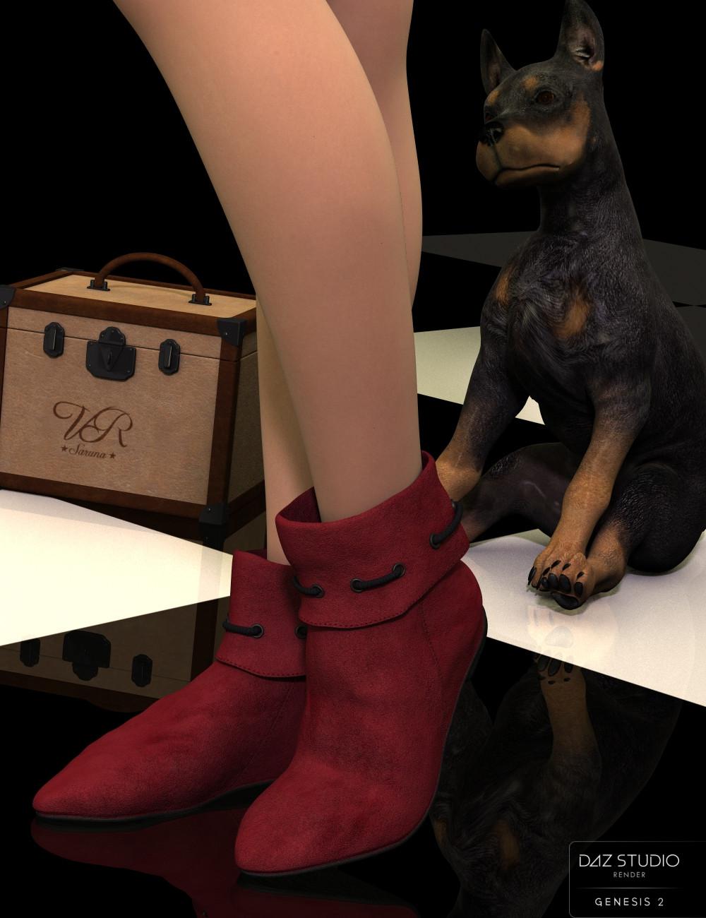 Robin Hood Boots for G2F Saruna_robin_hood_boots_frontimage