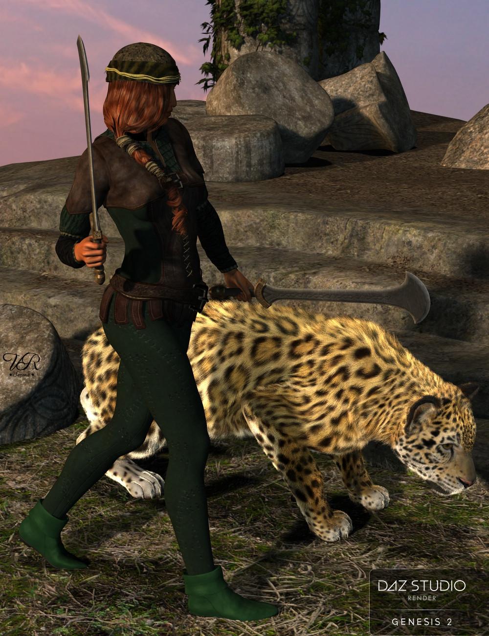 Robin Hood Boots for G2F Saruna_robin_hood_boots_szene_fantasy